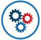 Organisational governance icon