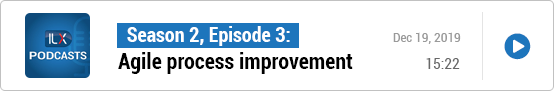 S2E3: Agile process improvement
