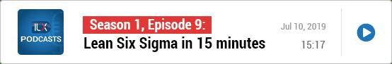 S1E9: Lean Six Sigma in 15 minutes