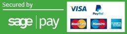 Pay by MasterCard, Visa or American Express